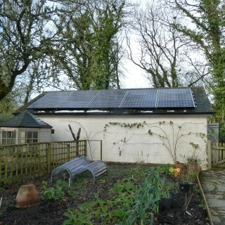 3.6KW Residential Installation - On Small Garage Roof