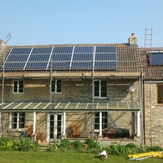 """Very happy to recommend them for solar installations"" - Dr Toomer, Somerset"