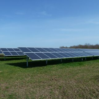 Agricultural Solar PV Installation 50KW Array at Ground Mount Farm