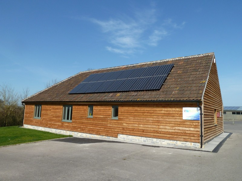 4KW Installs on commercial site